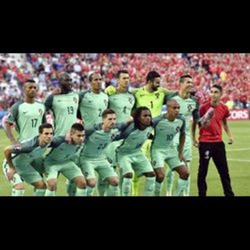 Quand un fan s'incruste sur la photo officielle du Portugal