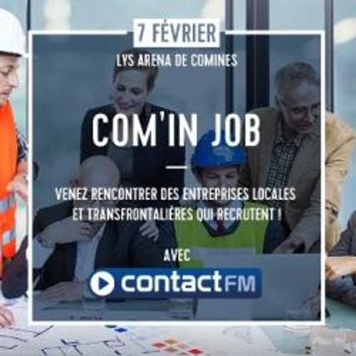 FORUM EMPLOI COMIN'JOB AVEC CONTACT FM