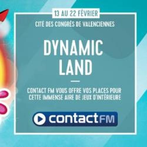 DYNAMIC LAND A LA CITES DES CONGRES DE VALENCIENNES AVEC CONTACT FM