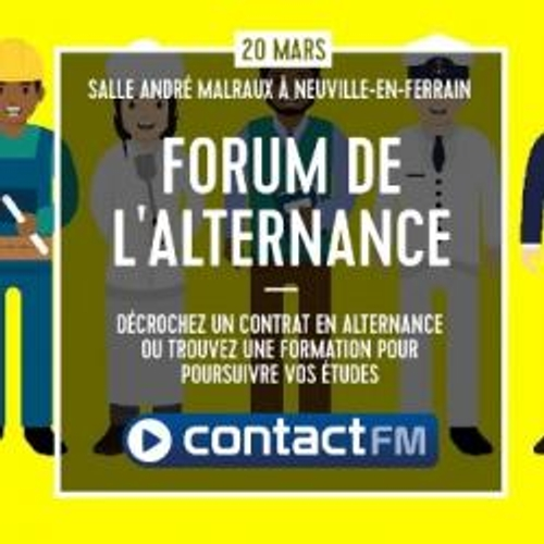 LE FORUM DE L'ALTERNANCE AVEC CONTACT FM