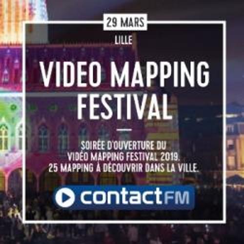 LE VIDÉO MAPPING FESTIVAL AVEC CONTACT FM