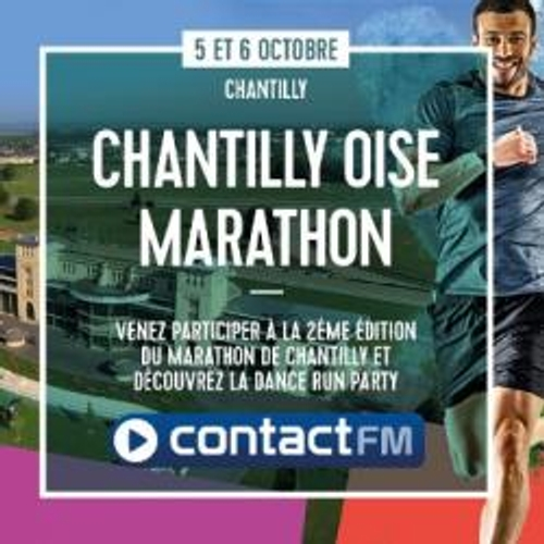 LE MARATHON DE CHANTILLY AVEC CONTACT FM