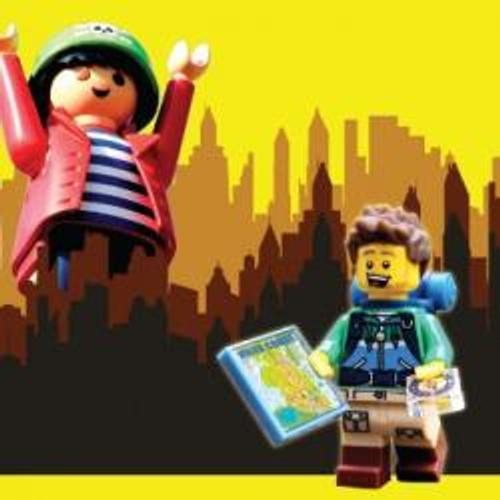 PLAYMOBIL INVITE LEGO AVEC CONTACT FM