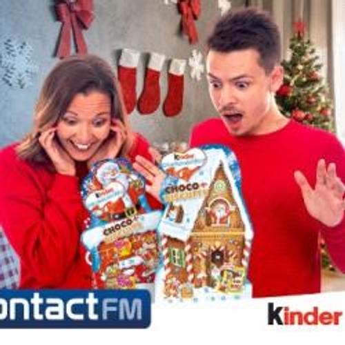GAGNEZ VOTRE CALENDRIER DE L'AVENT KINDER SUR CONTACT FM !