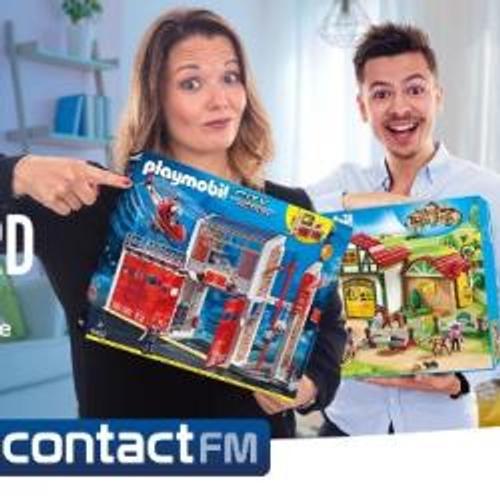 GAGNEZ VOTRE COFFRET PLAYMOBIL SUR CONTACT FM !