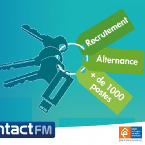 E-SALON LES CLÉS DE L'EMPLOI ET DE L'ALTERNANCE AVEC CONTACT FM !