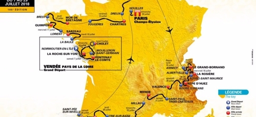 Le Tour de France 2018 dans l'Eure !