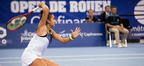 Salma Djoubri à Roland-Garros : « je suis très heureuse de...