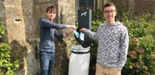 Rémi et Maxime veulent Nettoyer la planète