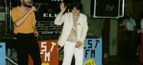 Fête EST FM entre 1986 et 1989