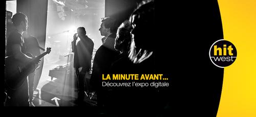 LA MINUTE AVANT ... l'expo digitale !