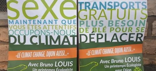 L'image du jour : le mot ''SEXE'' sur les affiches électorales pour...
