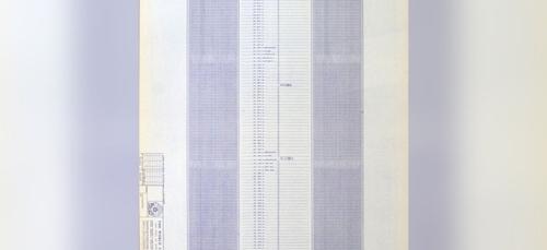 L'image du jour : les plans du World Trade Center