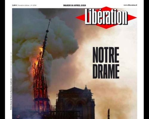 Il y a un an, l'incendie de Notre Dame de Paris