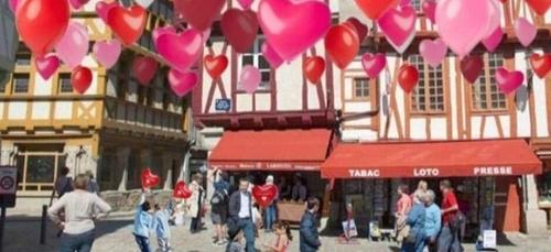 Des cœurs partout à Vannes