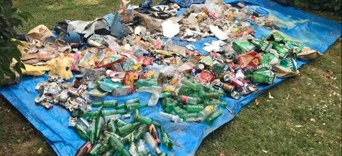 Une mayennaise ramasse des déchets tous les matins