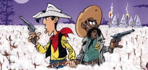 Lucky Luke s'attaque à la ségrégation raciale