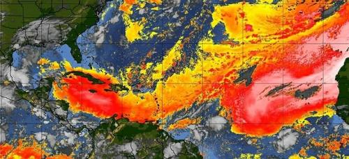 Des poussières nocives pour la santé sur les Antilles
