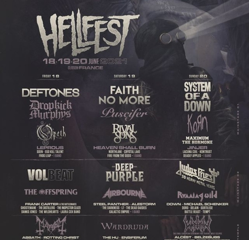 La programmation du Hellfest 2021