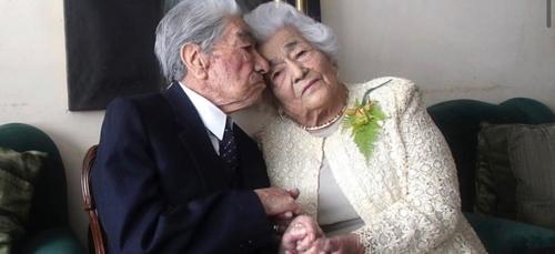 Le plus vieux couple du monde