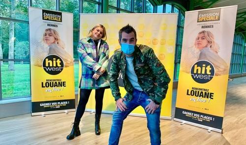 Louane en show case à Rennes