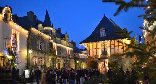 Un Noël différent à Rochefort-en-terre, avec moins de lumières et...