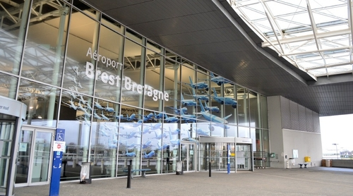 Un purificateur d'air installé à l'aéroport de Brest