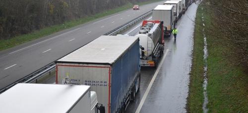 Circulation délicate ce matin en Bretagne, et nord des Pays de la...