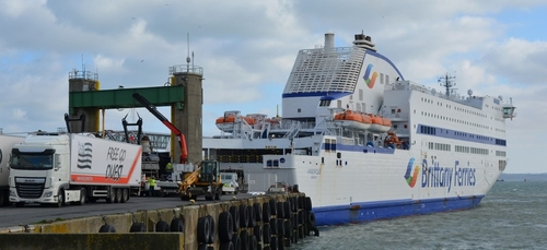 La Brittany Ferries relance ses liaisons de fret vers l'Irlande