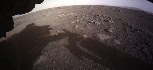 Les premieres images de Mars