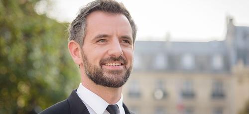 Florian Bachelier, député et questeur à l'Assemblée nationale