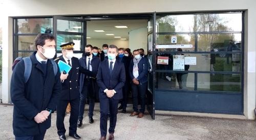 Le centre culturel islamique dégradé à Rennes : Darmanin sur place