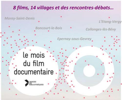 Lancement du mois du film documentaire ce 2 novembre au Cellier...