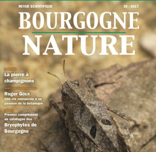 Sortie du n°25 de la revue scientifique Bourgogne-Nature