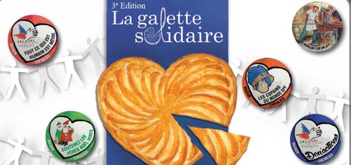 Epiphanie 2018, 3ème édition de la GALETTE SOLIDAIRE: Un artisan...