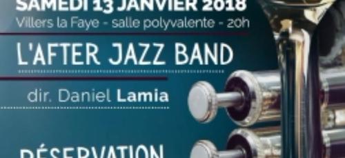 Rendez-vous ce samedi soir à Villers-la-Faye pour « l'After Jazz...