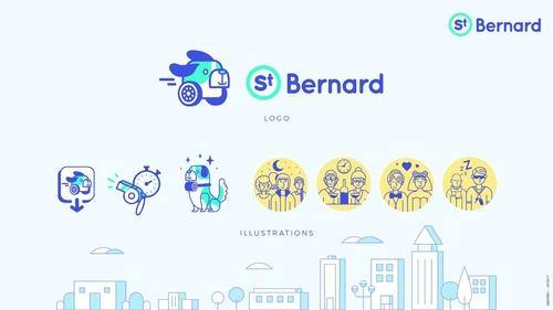 Saint Bernard: l'application de transport qui vous ramènera avec...