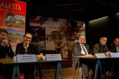 L'équipe du MuséoParc Alésia lance les hostilités pour 2018 !