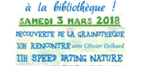 La bibliothèque de Quétigny organise une journée « Green attitude »...