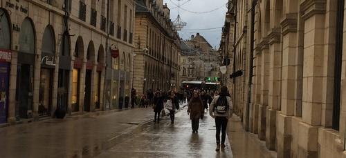 La zone piétonne va s'agrandir à Dijon