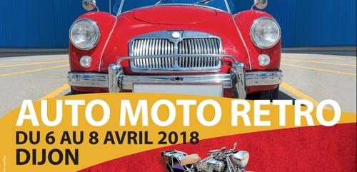 Le Salon Auto Moto Rétro débute ce vendredi à Dijon