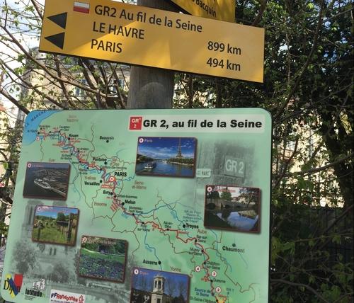 L'extrémité du GR2 inaugurée ce vendredi à Dijon