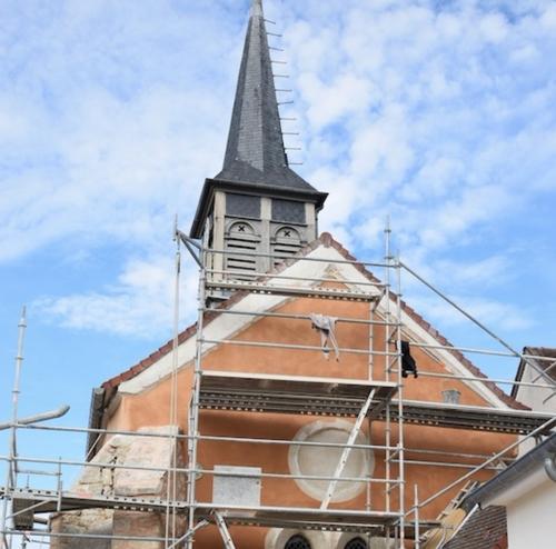 Inauguration de l'église de la Trochères