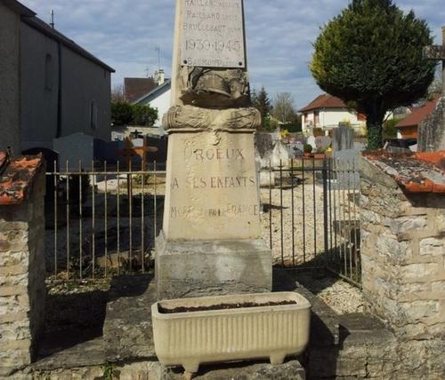 Un nouveau monument aux morts à Orgeux
