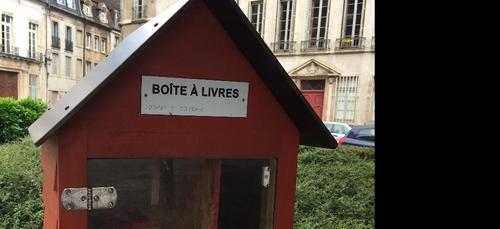 De nouvelles boites à livres à Dijon