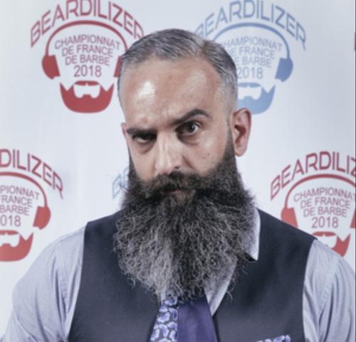 """Le """"champion de France de barbe"""" est dijonnais"""