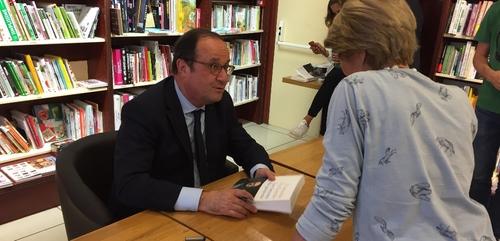 François Hollande était à Dijon ce mardi