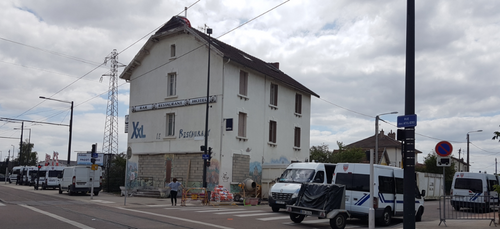 Evacuation d'un squat à Dijon