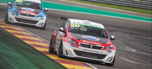 Le circuit de Dijon Prenois accueille les bolides Peugeot