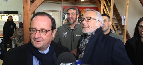 François Hollande de retour à Dijon